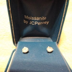 b579fe563 Moissanite. 14k yellow gold moissanite diamond ...